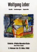 Plakate - Leber, Wolfgang: (Figuren im Raum)