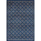 Longweave,Winner Blue/Beige Rug 160 CM X 235CM RRP -£74.69 (12092/17 -LOWV2695)