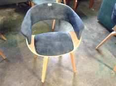 Selsey Living,Asarlo Upholstered Dining Chair (21223/12 -TCDV3368)