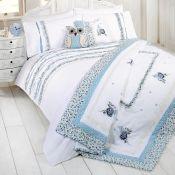 Lily Manor, Heidi Bedspread Colour: Blue (150X220CM)(THROW ONLY) (HSU6674.14601242 - HLS1 - S478)