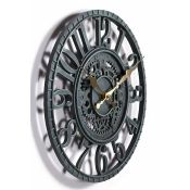 Sol 72 Outdoor, Hackleburg 30 cm Silent Wall Clock (GDML1092.42781874 - HLS1 - S354)