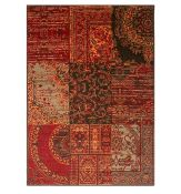 World Menagerie, Bewdley Red/Brown Rug Rug Size: Rectangle 80 x 150cm(HL7 - 2/29 - HOKG3956)8A