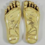 Happy Larry, Reflexology Feet Figurine (HL7 - 2/11 - CCOO1930)8C