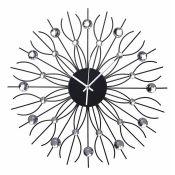 Rosdorf Park, Emrys 50cm Wall Clock (HL7 - 2/53 - UNGL1198)8F