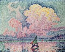 East Urban Home,Antibes, the Cloud, 1916 by Paul Signac Art Print RRP -£69.99 (15583/7 -MGBO5838)