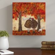 East Urban Home,'Just Beginning to See the Light' Painting Print RRP -£22.5 (14692/3 -APET3950)
