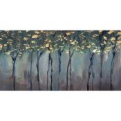 East Urban Home,'Somber Forest' Painting on Wrapped Canvas RRP -£65.99 (13774/5 -HEMA8799)