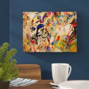 Hokku Designs,Composition 7 by Wassily Kandinsky Painting Print on Wrapped Canvas RRP -£25.82 (