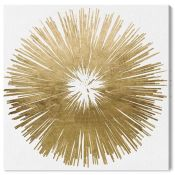 Oliver Gal,'Sunburst Golden' Print on Wrapped Canvas RRP -£33.99 (13774/15 -PBSK1457)