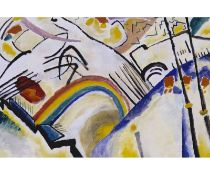 Hokku Designs,Cossacks by Wassily Kandinsky Painting Print on Wrapped CanvasRRP -£37.99 (15266/28 -