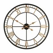 Castleton Home,80cm Wall ClockRRP -£77.99 (15266/24 -CCOO4479)