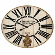 Brambly Cottage,Callington Wall ClockRRP -£32.99 (15266/20 -PRH8607)