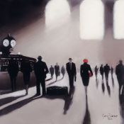 East Urban Home,'Grand Central Station Rendezvous - New York' Painting PrintRRP -£26.99 (15266/10 -
