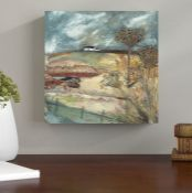 Caracella,'Along the Farm Drive' Painting Print on Canvas RRP -£69.99 (14610/31 -CACA3695)