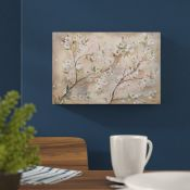Jaxson Rea,'Cherry Blossoms III' by Tre Sorelle Studios Watercolour Painting Print on Wrapped Canvas
