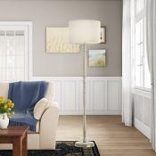 Lily Manor, Kiki 164cm Floor Lamp (SLIGHT DENT IN SHADE) - RRP £92.99 (DLI7573 - 16255/32) 2C