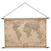 Rosalind Wheeler, Vintage World Map Wall Décor - RRP £71.99 ( MBRO1246 - 16255/31) 2F