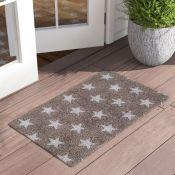 17 Stories, Wirth Stars Doormat - RRP £20.99 ( NADM1050 - 16255/15) 2E