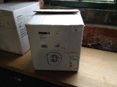ENDON ALZEIRA WHITE PENDANT LIGHT (EX DISPLAY/BOXE