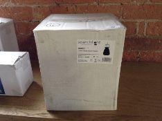 SEARCHLIGHT CHROME PENDANT LIGHT NEW/BOXED