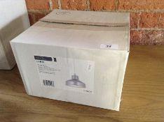 ENDON ASTON ALUMINIUM SHADE (EX DISPLAY/BOXED)