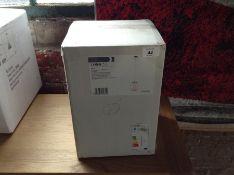 ENDON GINA WHITE GLASS PENDANT (NEW/BOXED)