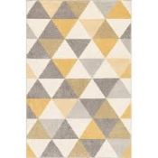 Annabell Power Loom Cream/Beige/Gold Rug Rug Size: Runner 60 x 220cm (HL7 -1/10 -WEWO1023.23082784)