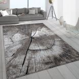 Smyrna Grey/Brown Rug Rug Size: Rectangle 200 x 290cm (HL7 - 3/2 -ALAS6408.32402806)