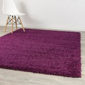 Metro Lane,Therese Cozy Purple Area Rug RRP -£29.82 (120x170cm) (9664/24 -LDRU1316)