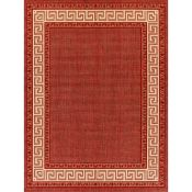 Charlton Home,Harpole Red Rug RRP -£36.99 (9664/8 -COHM1061)