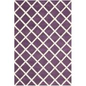 Benford Handmade Tufted Wool Purple Rug Rug Size: Rectangle 182 x 274cm (HL7 - 3/19 -QQ6536.
