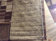 Broome Handwoven Grey/Beige Rug Rug Size: Rectangle 80 x 150 cm (HL7 - 4/38 -STFE1480.55577650)