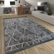 Fazeley Grey Rug Rug Size: Rectangular 200 x 290cm (HL7 - 3/10 -PSCH1043.39873191)