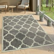 Longweave,Brooklyn Grey Rug RRP -£106.99 (14006/12 -ALAS6808)