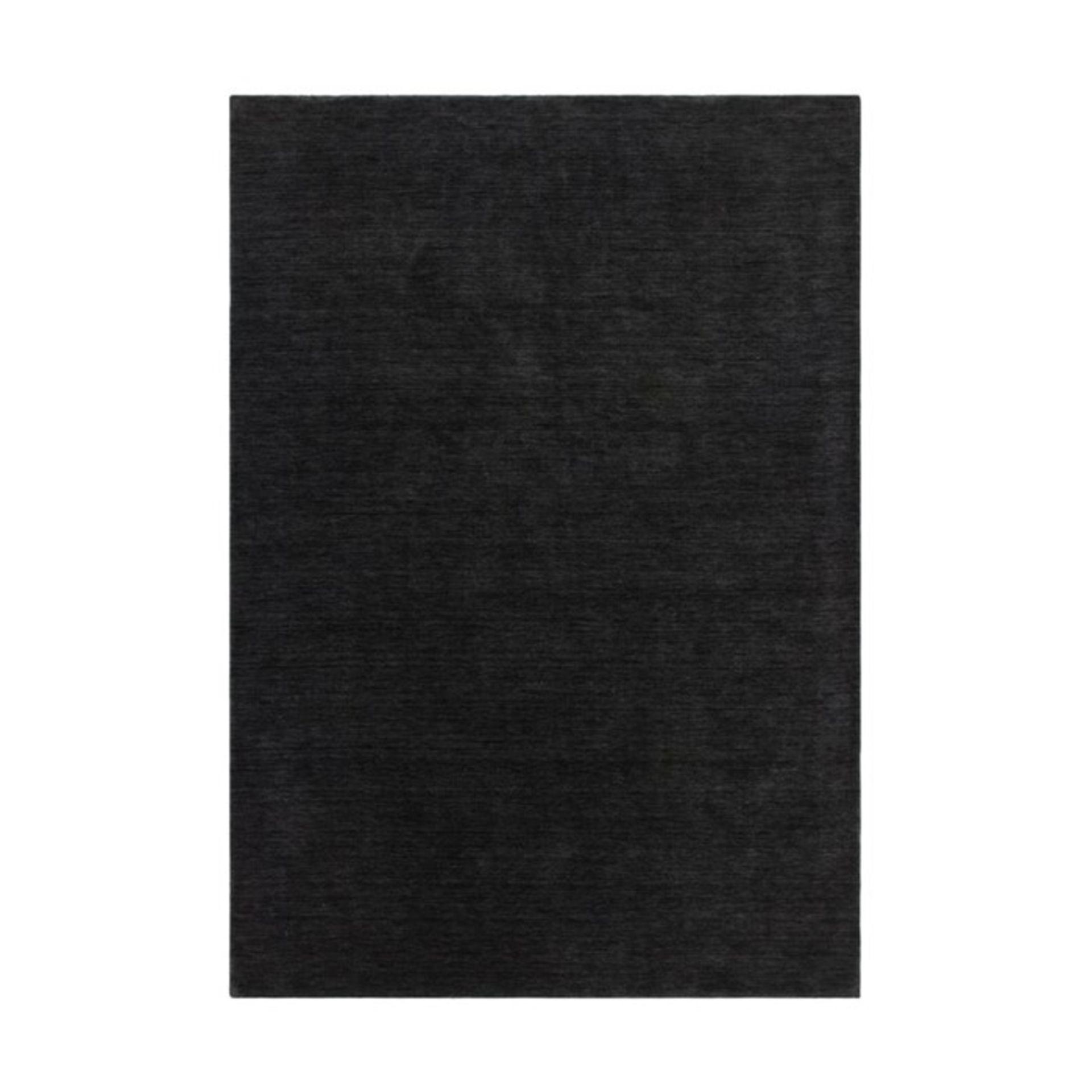 Kayoom,Belize - Belmopan Handwoven Wool Graphite Rug RRP -£165.99 (120x170cm)(11989/8 -KAYM1649)
