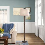 ClassicLiving, Bergstrom 130cm Standard Floor Lamp Base (NO SHADE) - RRP £86.99 (DLI7565 - 20996/11)