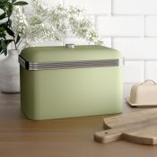 Swan, Retro Bread Bin (CREAM) - RRP £24.99 (BSSP1063 - 21072/29) 1D