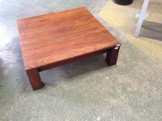 WALNUT TABLECOFFEE TABLE SQUARE(SFL1198 -SAMPLE )