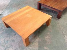 OAK TABLECOFFEE TABLE SQUARE(SFL1197 -SAMPLE )