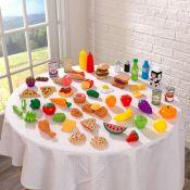 KidKraft, Play Food Set - RRP £14.82 (LBMD1038 - 15435/46) 1D