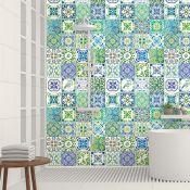 Home Loft Concept, 15cm x 15cm PVC Peel and Stick Mosaic Tile X2 PACKS - RRP £50.97 (HVO74364 -