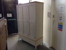 Bergen Painted Triple Wardrobe (J20 -NTP-L3DR)