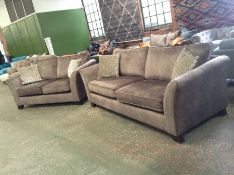 BEIGE SADDLE 3 SEATER & 2 SEATER HH23-693655
