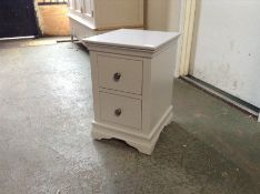 Florence Grey Painted Bedside Cabinet (J32 -SW-BSC-G) MARKED