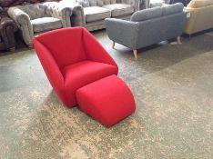 RED ENVELOPE SWIVELLING CHAIR (SFL1231)RED ENVELOPE STOOL (SFL1232)