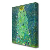 East Urban Home, 'The Sunflower' by Gustav Klimt Painting Print on Wrapped Canvas - RRP £44.99 (
