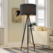 Paulmann, Neordic 153cm Tripod Floor Lamp - RRP £112.99 (PUN6904 - 17061/14) 1F
