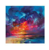 Caracella, 'Liquid Light 3' by Scott Naismith Painting Print - RRP £15.99 (CACA4024 - 17061/6) 2A
