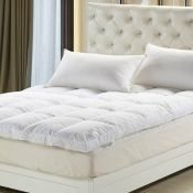 Symple Stuff, Duck Feather and Down 5cm Mattress Topper (SIZE UNKNOWN) - RRP £44.99 (BOUR2521 -