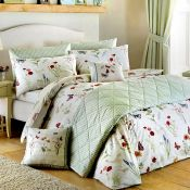 Lily Manor, Country Journal Duvet Cover Set (KING) - RRP £29.99 (HAZM6610 - 21605/71) 1B